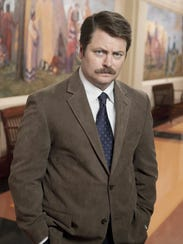 "Nick Offerman during his ""Parks and Recreation"" heyday."