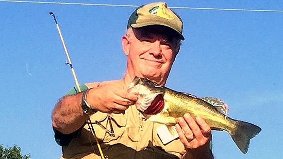 I nailed this bass Saturday, my first success in the