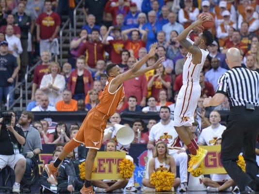 NCAA Basketball: Big 12 Championship-Iowa State vs Texas