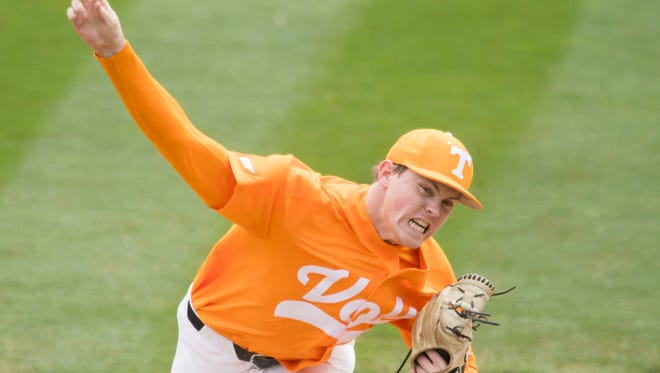 Tennessee's Zach Linginfelter was 3-4 with a 3.93 ERA this past season.