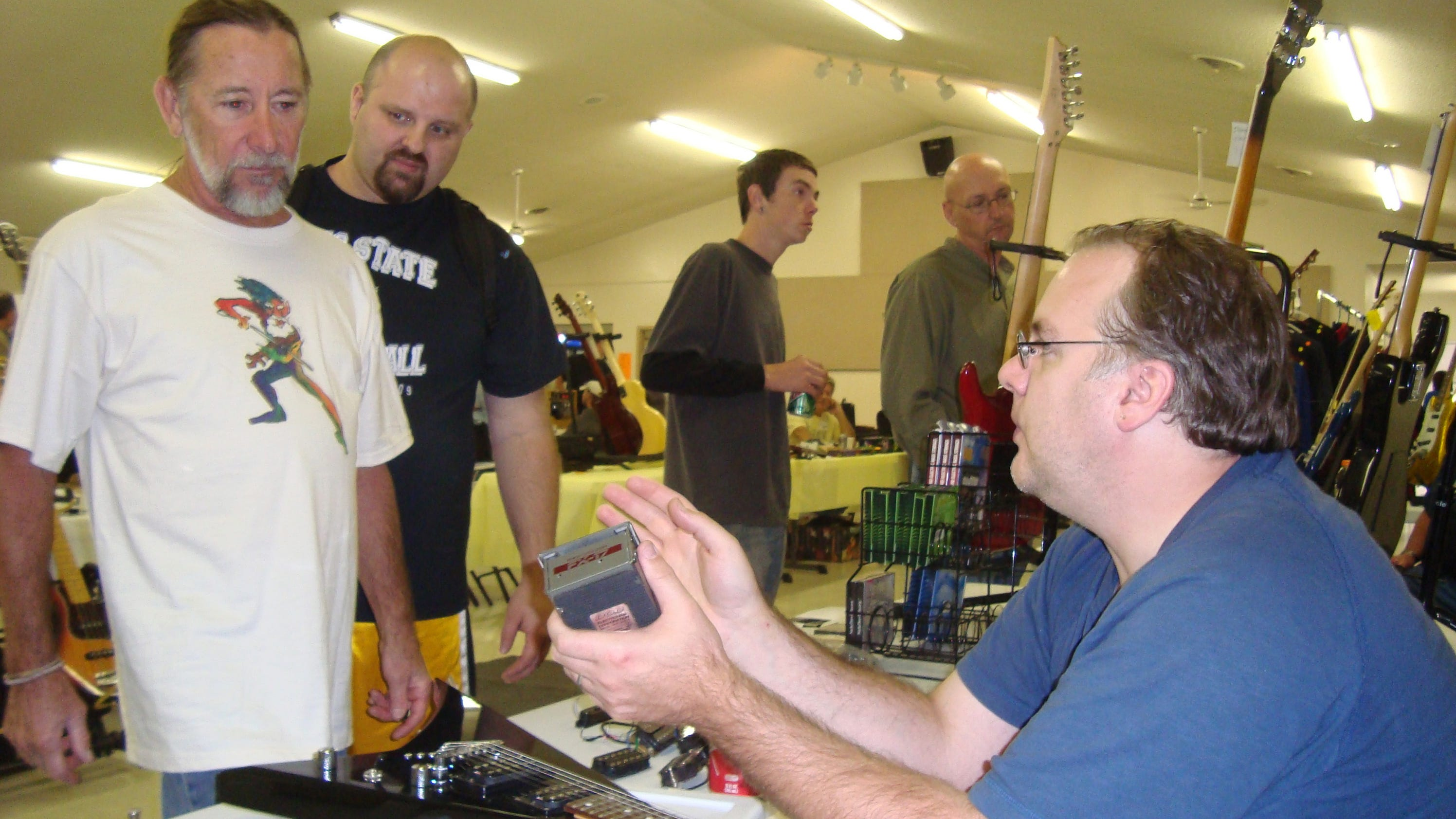 Guitar show continues to see growth