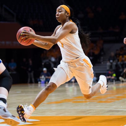 Lady Vols set school NCAA tournament shooting record in rout of Liberty