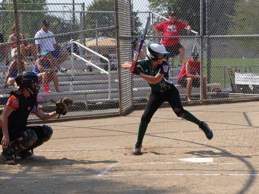 Jr Softball World Series - Jeffersonville 2 Camryn Teague batting Amy Steinm.jpg