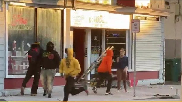 Rochester police are seeking help in identifying the people in this photo from Saturday's chaotic scene in the city.