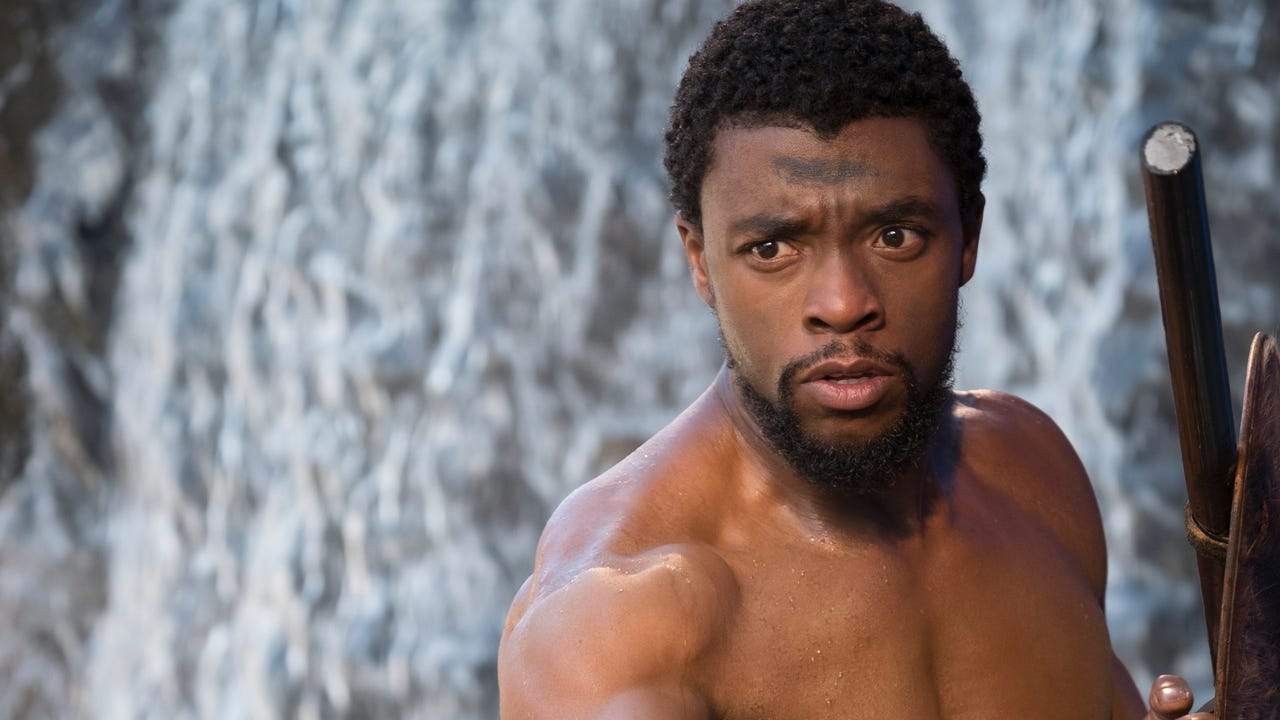 'Black Panther' star Chadwick Boseman covers Rolling Stone magazine