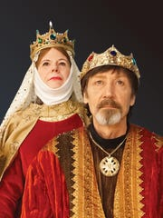 "Tanya and Kevin Burnham in Starlight Theatre's ""Lion in Winter."""