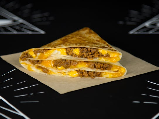 The $1 Stacker from Taco Bell.