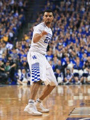 Kentucky's Jamal Murray confirms his three-point shot is good against Ole Miss. He had 18 points with three assists.