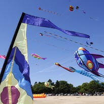 Kites Over Lake Michigan Sept. 3-4 at Neshotah