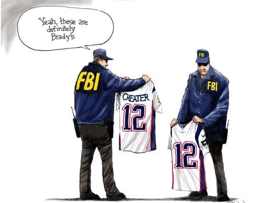 Brady's stolen jerseys found