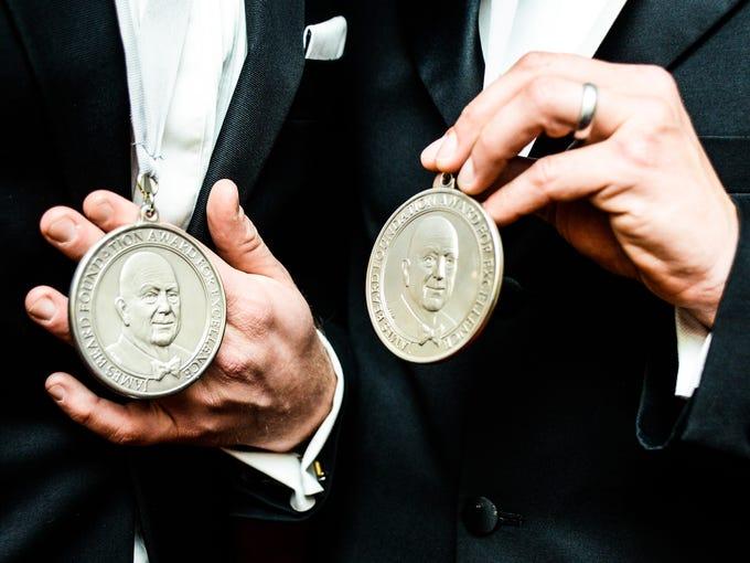 The James Beard Foundation (JBF) honored chefs, restaurants
