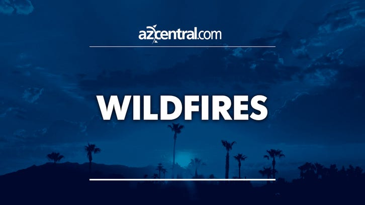Fulton Fire near Payson at 1,700 acres, half contained