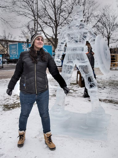 Plymouth Ice Festival And The Big Freeze