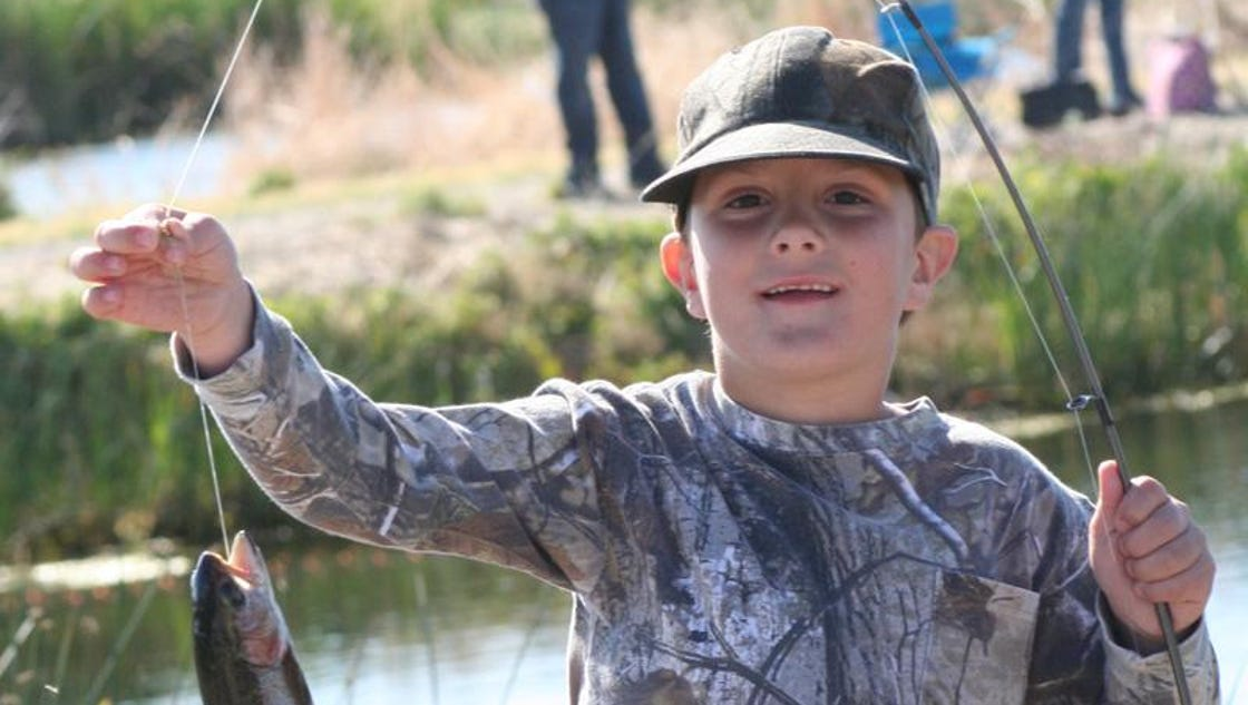 Kids free fishing day event planned for sparks marina for Sparks marina fishing