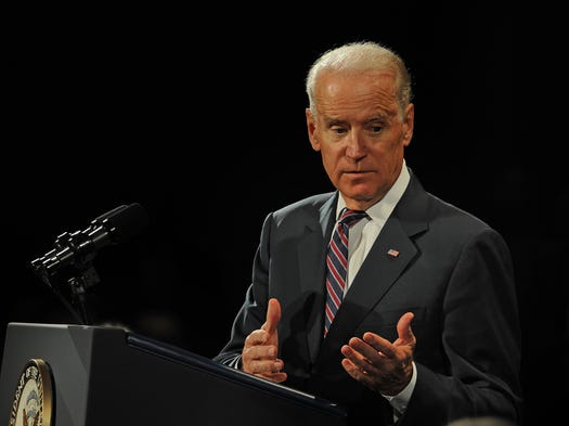 Vice President Joe Biden speaks during the opening session of the National Governors Association conference on Friday July 11, 2014, in Nashville.