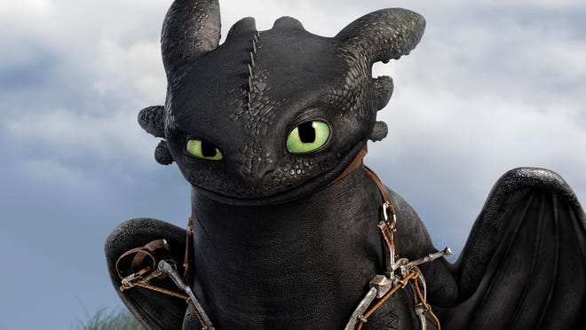 "Toothless the dragon returns to screens, and skies, in ""How to Train Your Dragon 2."""