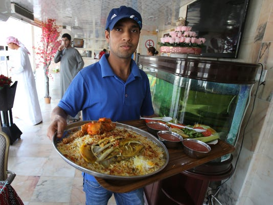 Emirates Guest Cook restaurant in Shahama