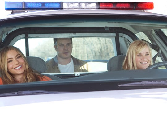 """Sofía Vergara and Reese Witherspoon star in """"Hot Pursuit."""""""