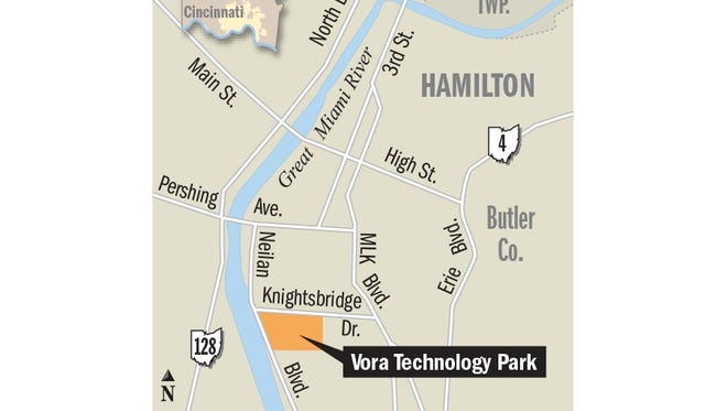 Here's where Vora Technology Park is located.