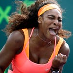 Serena Williams opens the best-of-five Fed Cup against