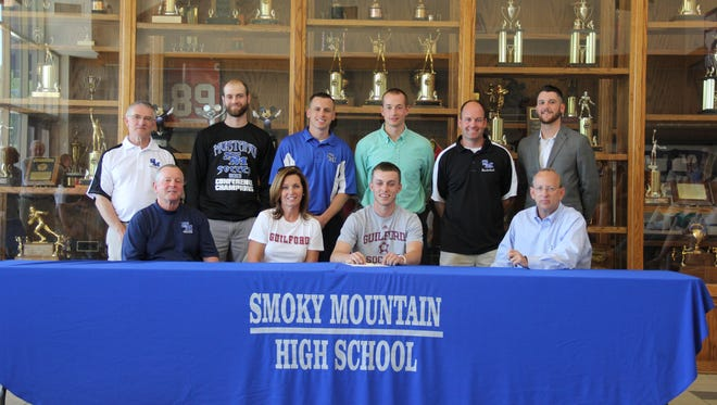 Smoky Mountain alum Jordan Couch will play college soccer for Guilford.