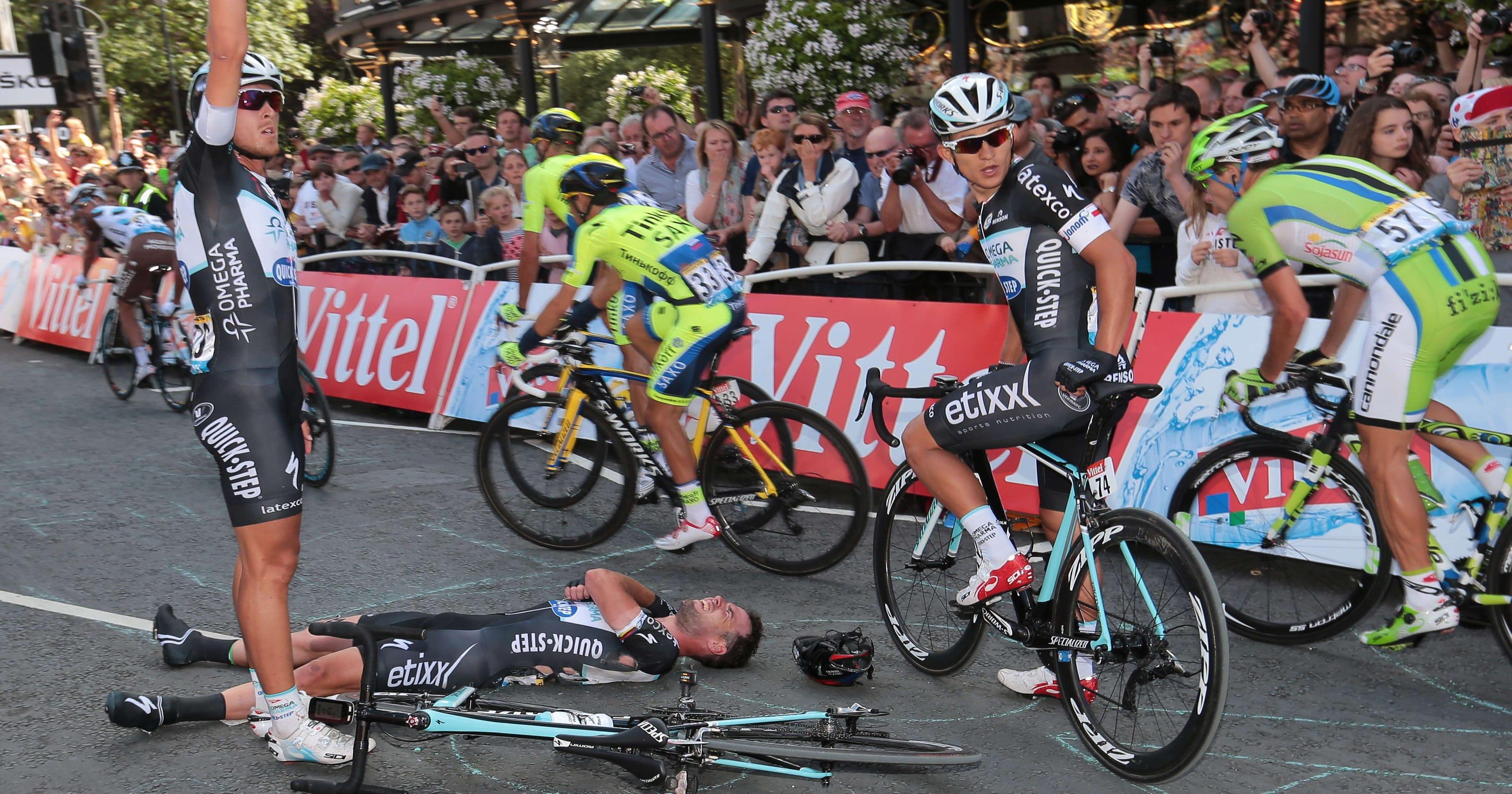 Marcel Kittel wins Tour de France s first stage d3f9d75b6