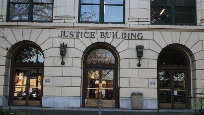 The Oregon Department of Justice building in Salem.