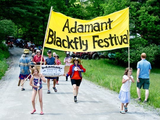 The 13th-annual Adamant Blackfly Festival takes place