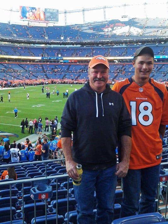 Broncos-Missing Fan