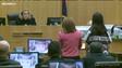 La juez Sherry Stephens condenó a Jodi Arias a cadena