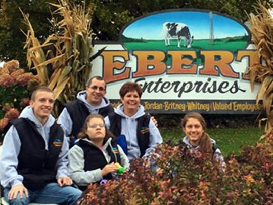 The Ebert family is this year's host of Farm Technology Days in Kewaunee County.