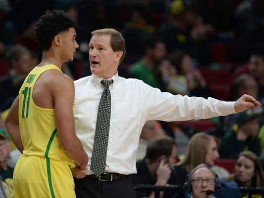 NCAA Basketball: UNLV at Oregon