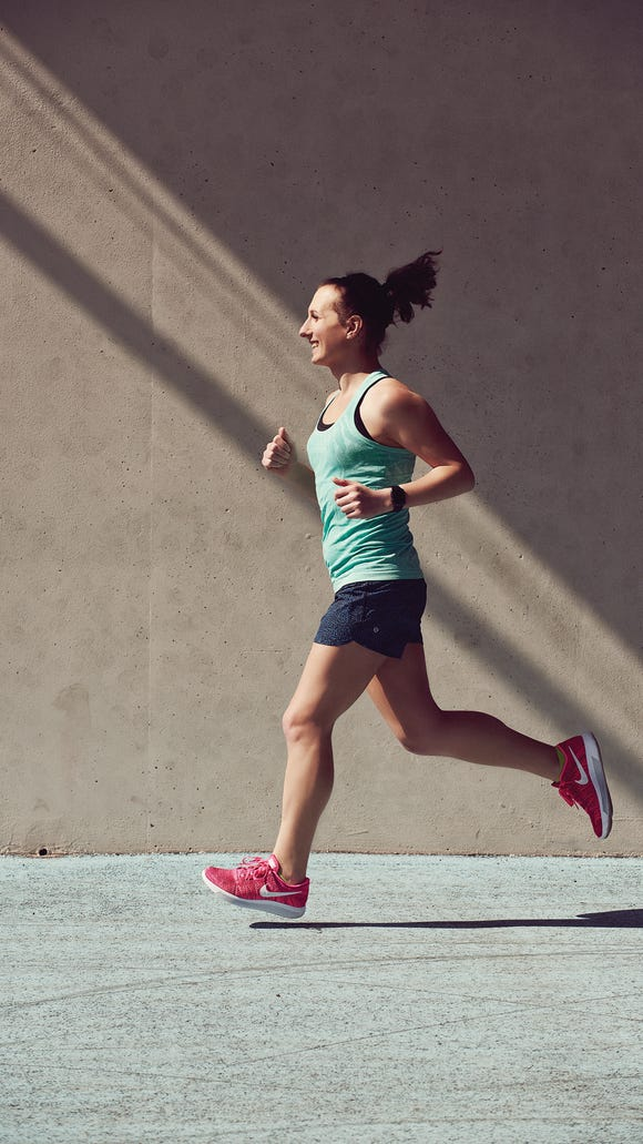 When running is freeing...