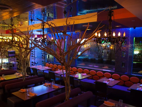 The dining room at Vega in Hartsdale.