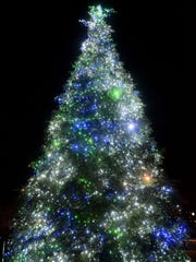 The annual holiday tree lighting is Saturday at Tradition