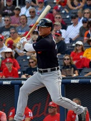 Jim Adduci played 29 games with the Tigers last season, hitting .241 with a .323 OBP.