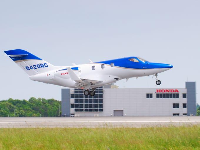 The HA-420 HondaJet is an advanced light jet.