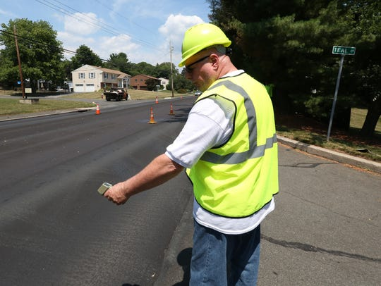 Rockland County Highway Department foreman Bernie Hughes