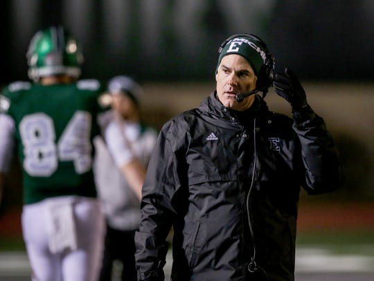 Eastern Michigan Eagles head coach Chris Creighton