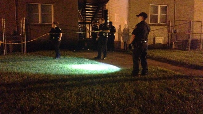 Officers are still on scene outside 33 Carver Ave. in response to a shots-fired call.