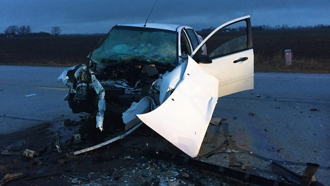 A Western Boone High School student died after a two-vehicle crash in Lebanon Thursday, March 1, 2018.