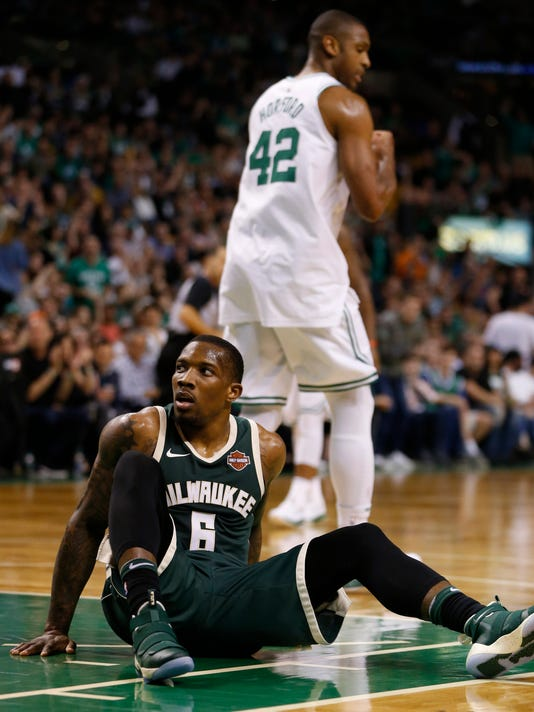 NBA: Playoffs-Milwaukee Bucks at Boston Celtics