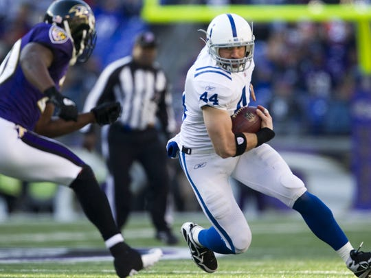 In each of Clark's first seven seasons with the Colts, the team won at least 12 games.