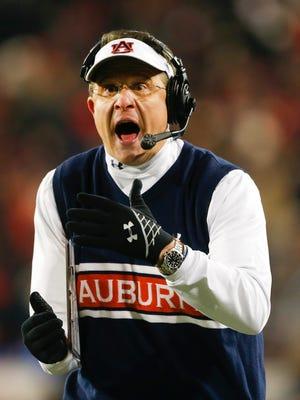 Auburn coach Gus Malzahn's squad lost consecutive games for the first time.