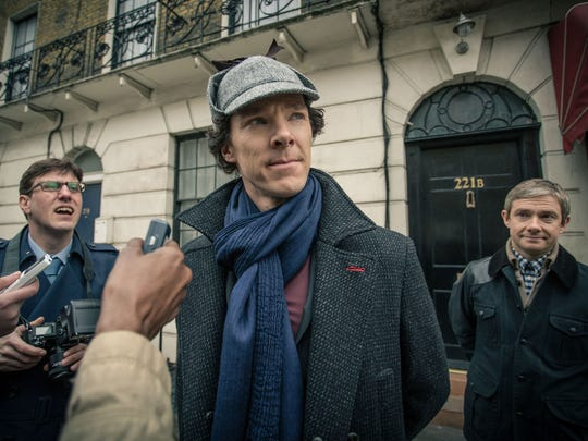 Sherlock Holmes (Benedict Cumberbatch) is the brilliant