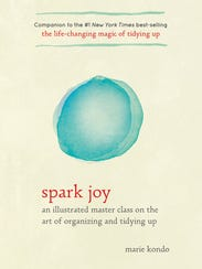 'Spark Joy' is the new best-selling companion to Marie
