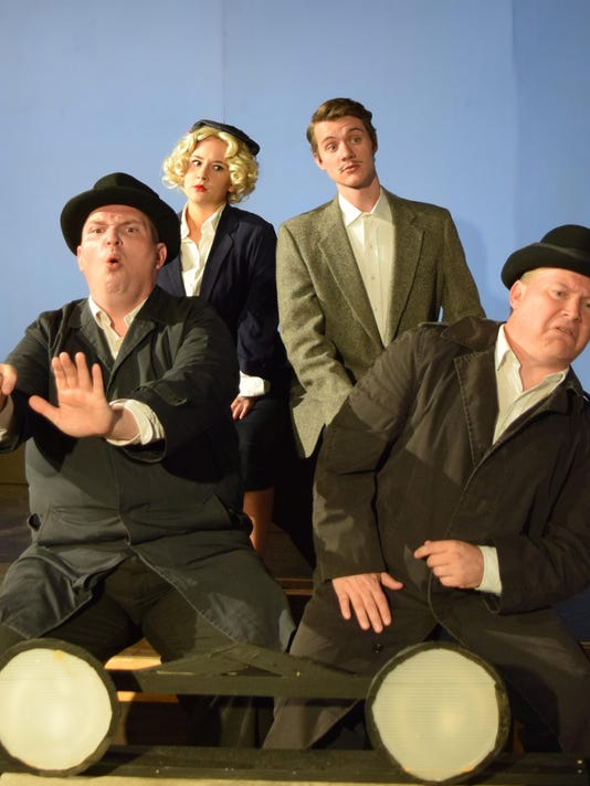 39 Steps Cast in the Car