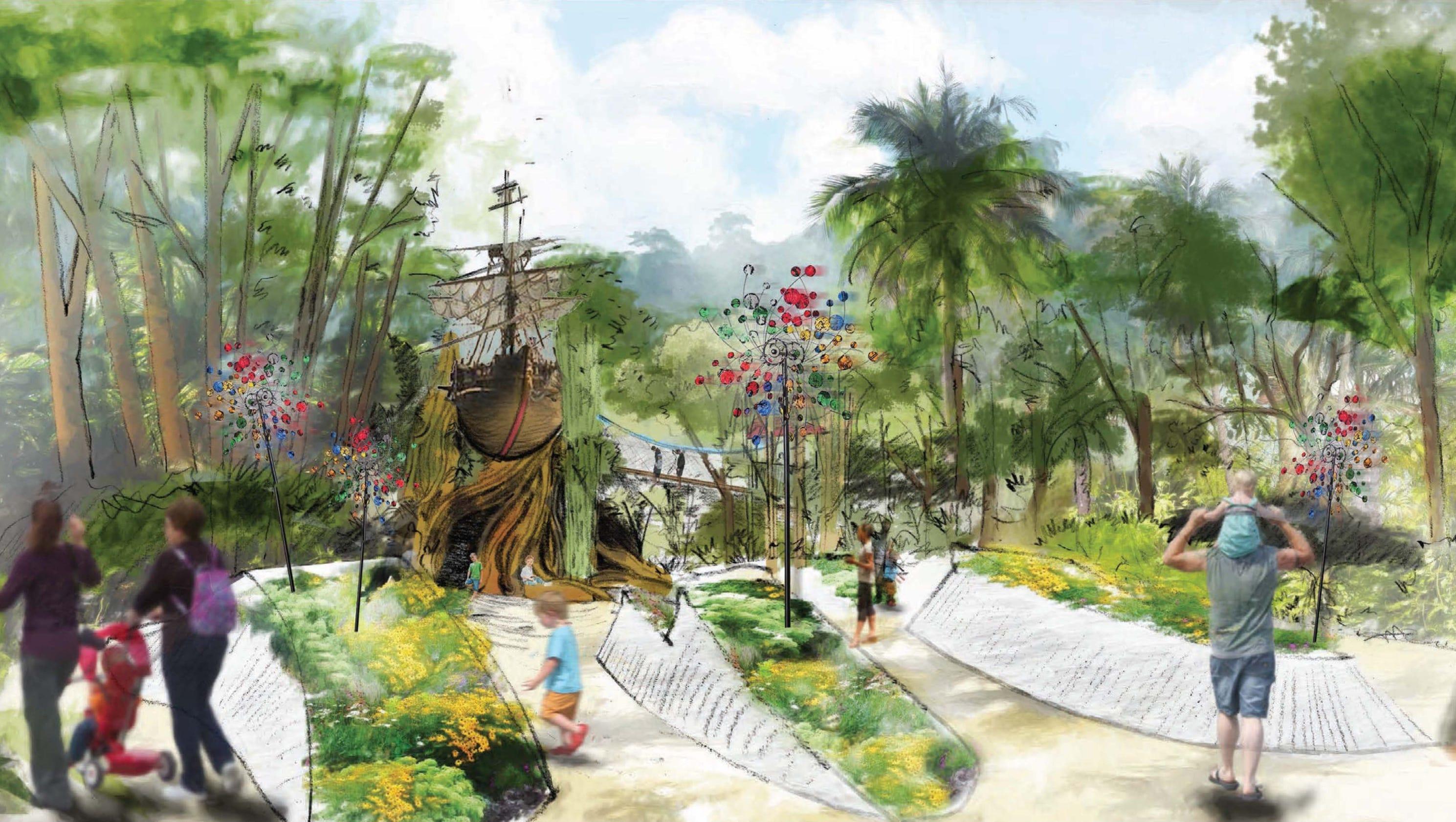 A Children S Garden Is Coming To Mckee Botanical Garden In Vero Beach