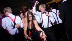 Scenes from West High School's prom at the downtown