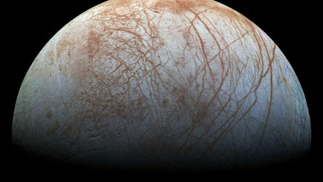 One of Jupiter's moons, Europa, is one of the top locations in our solar system for the potential of life.